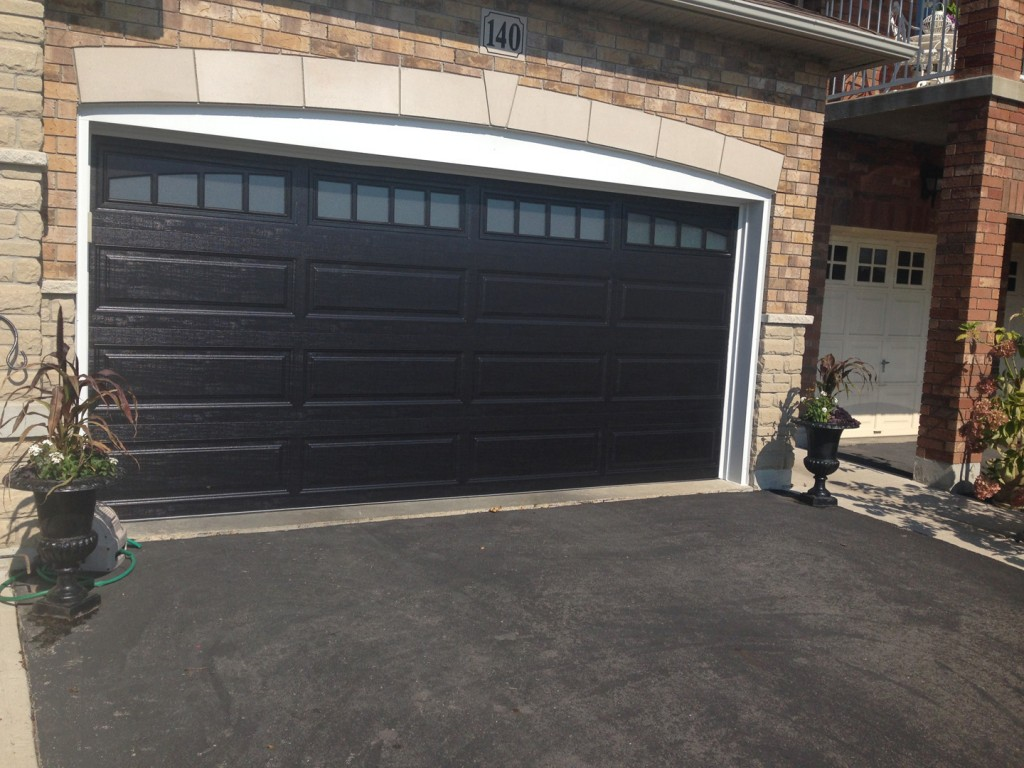 Clopay aurora overhead door for Clopay steel garage doors