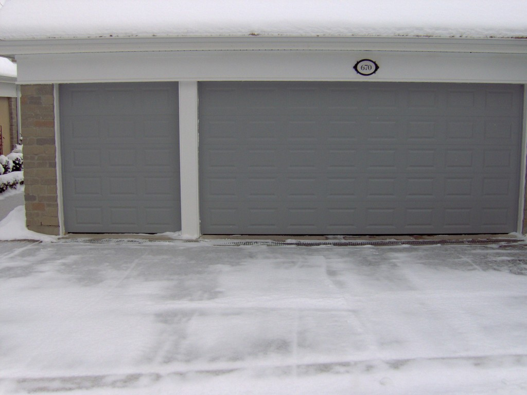 768 #655A4E  Chi Model 2283 12 Wide Chi Model 2283 Gray Insulated Door With picture/photo Chi Residential Garage Doors 36291024