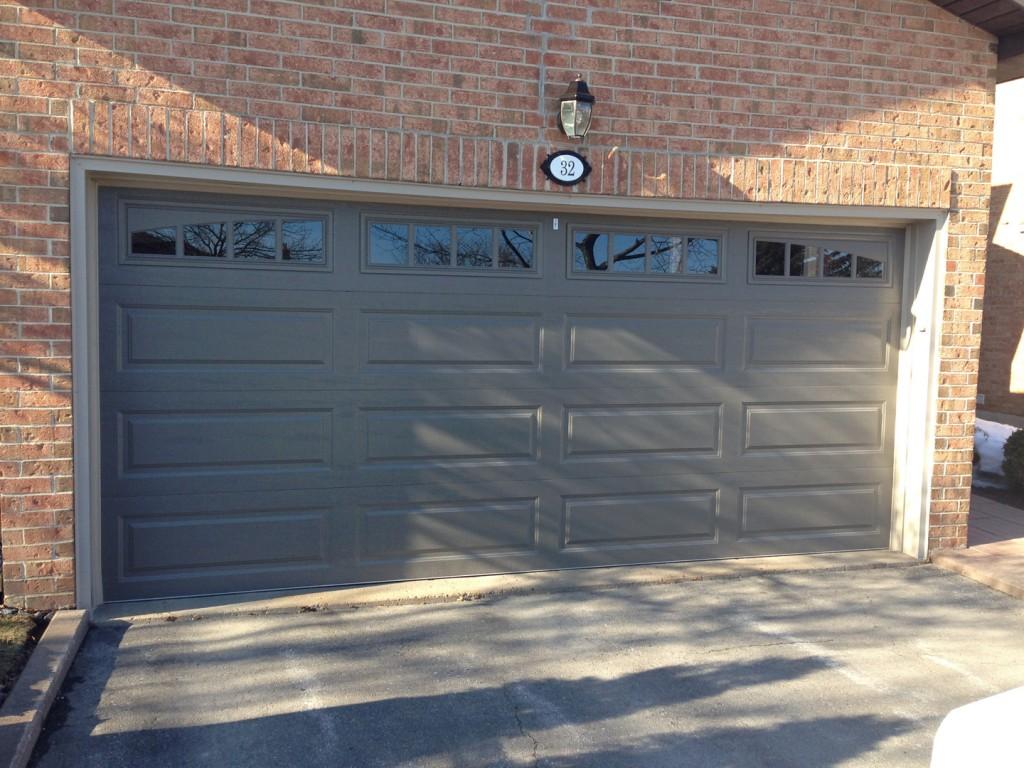 Clopay aurora overhead door for Clopay garage door window inserts