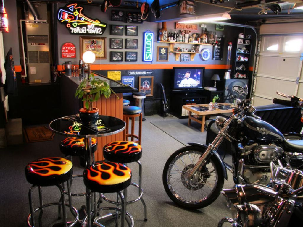 Man Cave Birthday Ideas : Make your garage neighbourhood s party central