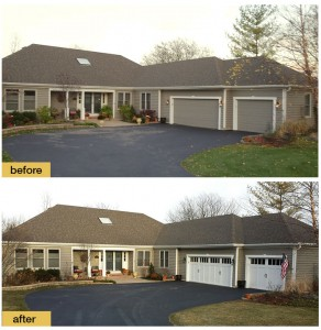 Garage door - Before and After 3