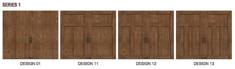 Canyon ridge limited door design